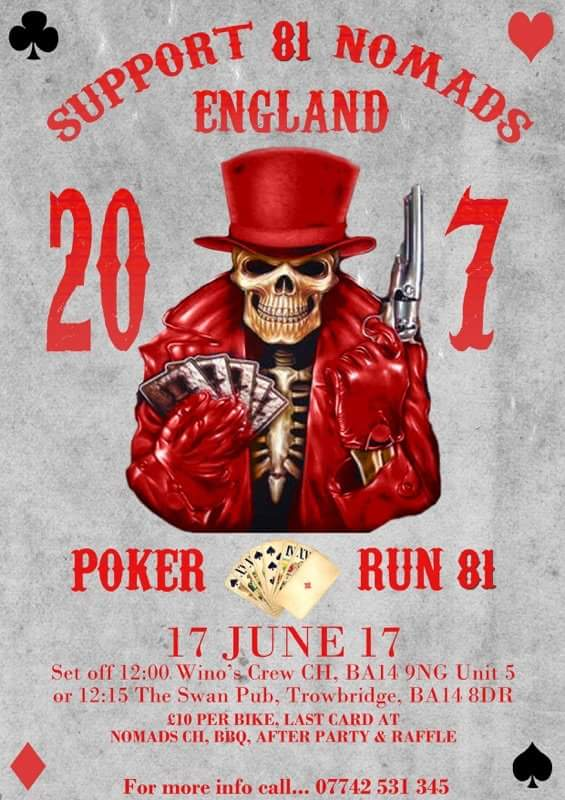 Poker Run 81 - Hells Angels Nomads England