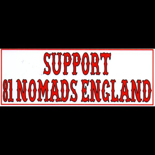 Support 81 Nomads England Large